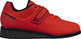 More Mile More Lift 4 Weight Lifting/Cross Fit Shoes - Red