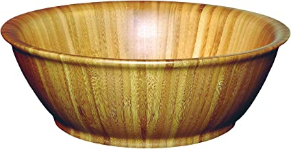 Totally Bamboo Flared Bamboo Serving Bowl, 12
