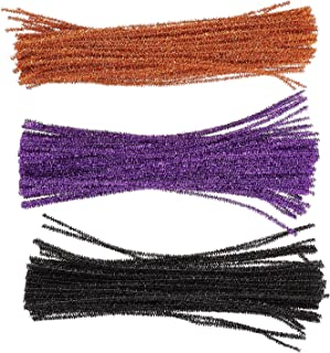 EXCEART Blichtr Chenille Pnie Glitter Chenille Pnie 300 Sztuk Multicolor Chenille Środki Czyszczące Zrobić DIY Rzemiosło S...