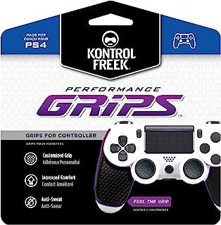 KontrolFreek Performance Grips for PlayStation 4 Controller | Black
