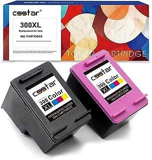 comprar comparacion CSSTAR Remanufacturado Cartuchos Tinta Reemplazo para HP 300 300XL para DeskJet D2660 D5560 F2480 F4280 F4580 Envy 110 114...