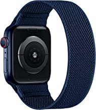 Sponsored Ad - ENJINER Stretchy Nylon Solo Loop Bands Compatible with Apple Watch 38mm 40mm 42mm 44mm iWatch Series 6 SE 5...