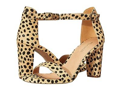 Madewell Brooke Ankle-Strap Sandal (Sand Dune Multi) Women