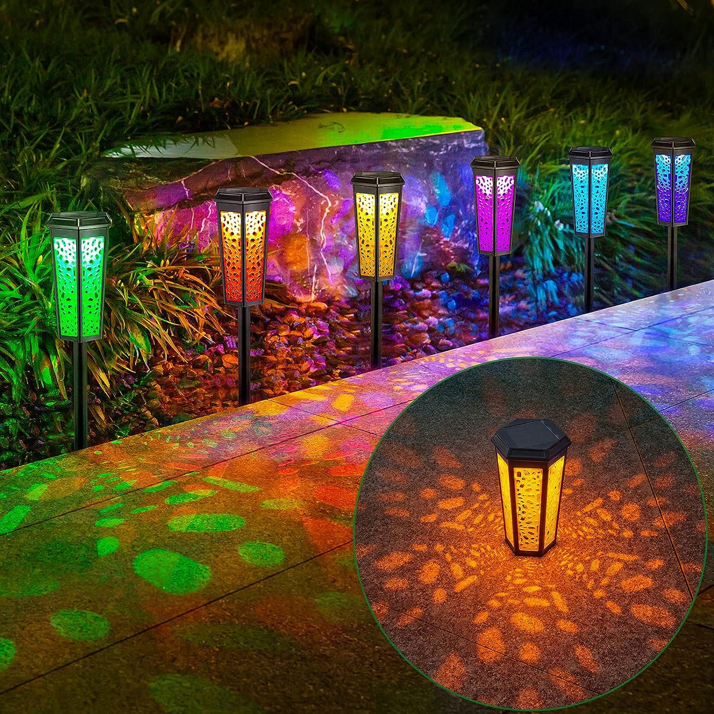 6 Pack Solar Garden Waterproof New Orleans Mall Houston Mall IP55 Outdoor Lights