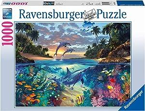 Ravensburger Coral Bay Jigsaw Puzzle (1000 Piece)