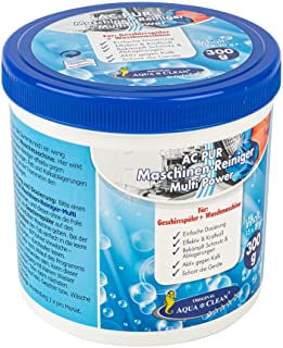 AQUA CLEAN PUR Maschinen-Reiniger für Waschmaschinen & Geschirrspüler 15Stück a 20g