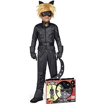 Generique Coffret Deguisement Chat Noir Miraculous Enfant 3 4 Ans 98 110 Cm Amazon Fr Jeux Et Jouets