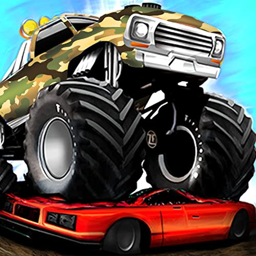 Fearless Army Monster Truck Destruction Derby Stunts Game 2020