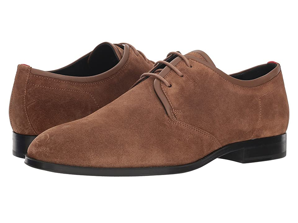 BOSS Hugo Boss Boheme Derby Casual by HUGO (Medium Brown) Men