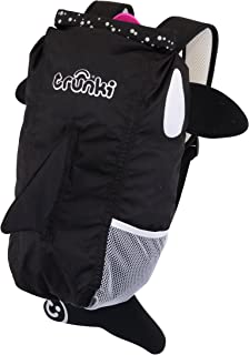 Trunki PaddlePak Back Pack - Water Resistent Kids Backpack (Kaito), Black