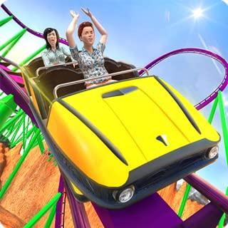 Roller Coaster Crazy Driver 3D