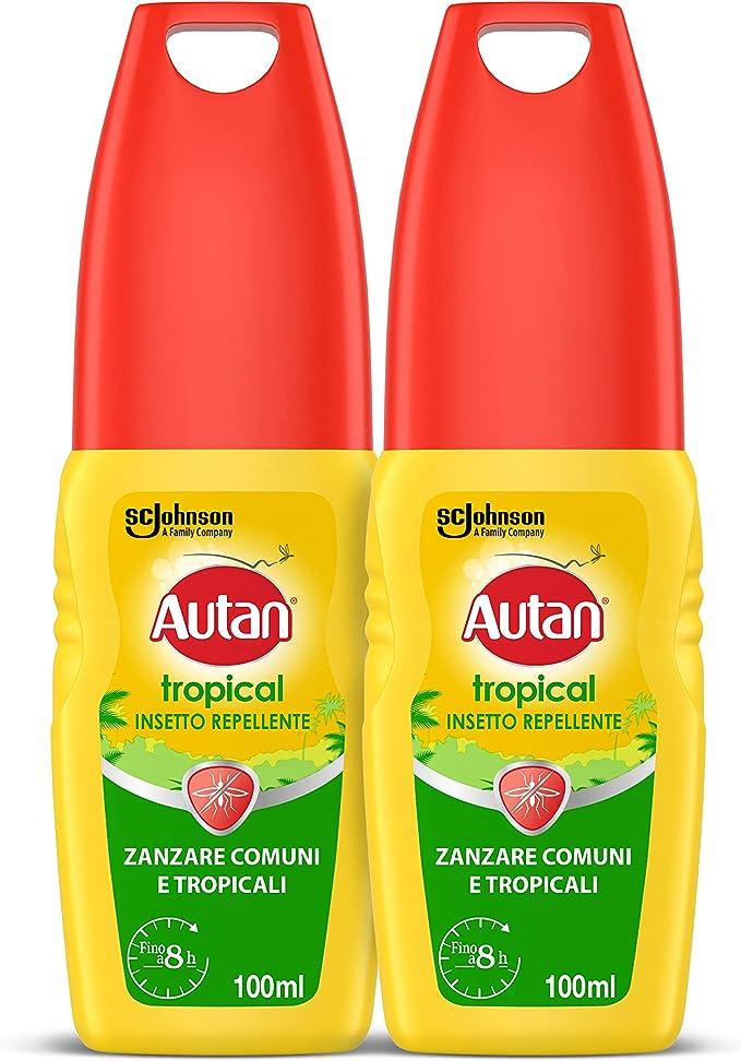 985 opinioni per Autan Tropical Vapo Bipacco, Insetto Repellente e Antizanzare Comuni e
