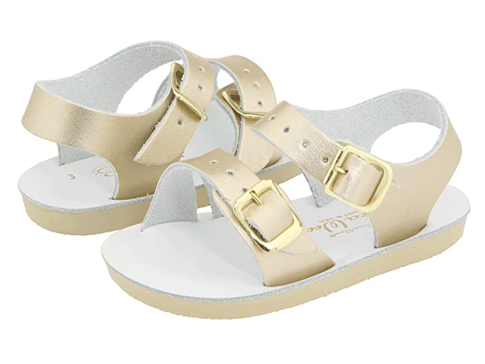 Salt Water Sandal by Hoy Shoes  Sun-San - Sea Wees (Infant/Toddler) (Gold) Girls Shoes