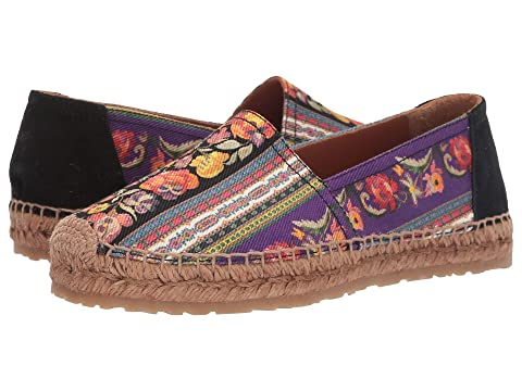 Etro Printed Canvas Espadrille