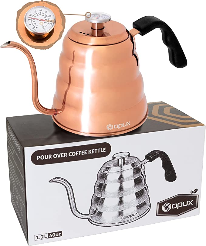 OPUX Stainless Steel Pour Over Coffee Kettle