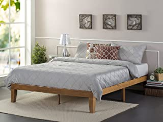Zinus Alexia 12 Inch Wood Platform Bed / No Box Spring Needed / Wood Slat Support /..