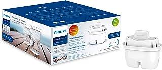 Philips - AWP212 - Filtre à eau Micro X Clean - Cartouches pour filtration d'eau - Compatible avec les carafes Philips et ...