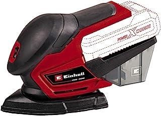 Einhell Multiple Sander TE-OS 18/150 Li - Solo Power X-Change (18 V, 24000 Min^-1 Oscillat. Speed, Dust Box, Incl. Six She...