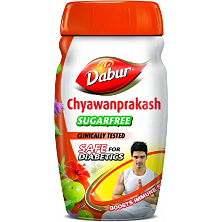 Dabur Chyawanprakash Sugarfree : Clincally Tested Safe for Diabetics |Boosts Immunity |helps Build Strength and Stamina - 900gm