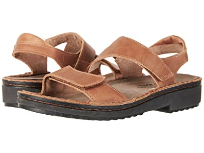 Naot Enid (Latte Brown Leather) Women