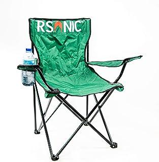 RSonic Silla de Camping Plegable Soporte para Bebidas y