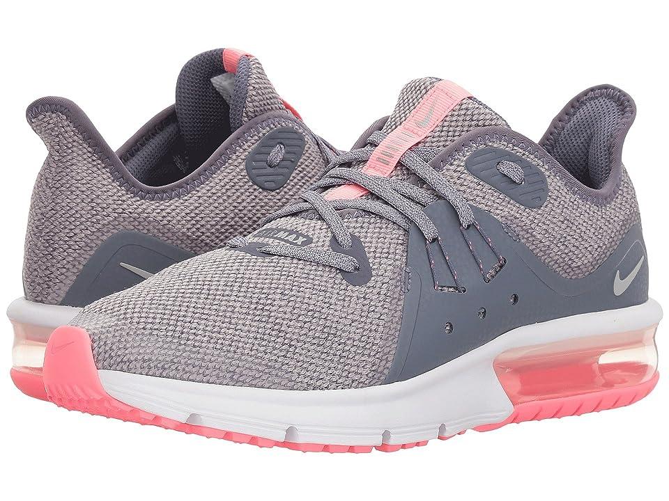 Nike Kids Air Max Sequent 3 (Big Kid) (Light Carbon/Metallic Silver) Girls Shoes