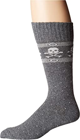 Single Cashmere Blend Skulls