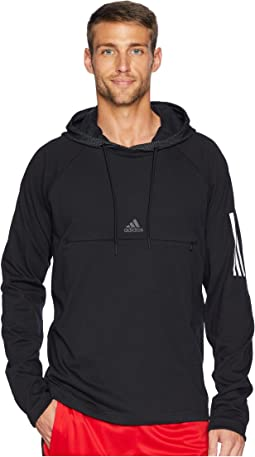 3ad240dd1931 adidas. Team Issue Short Sleeve Hoodie.  44.99MSRP   50.00. Black Black