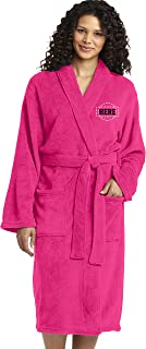 Personalized Embroidered Robes – Custom SPA Robe – Monogrammed Bathrobes