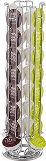 Exzact EX-DG031-32 Soporte para Cápsula Compatible para cápsulas de café Dolce Gusto (32 Piezas) - Soporte Giratorio para Torre de cápsulas (Dolce Gusto 32pcs)