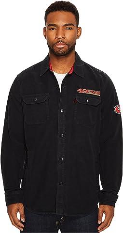 Levi's® Mens 49ers NFL Overshirt