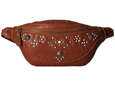 Frye Concho Hip Pack (Cognac) Handbags