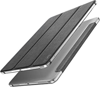 Infiland iPad Pro 12.9 2018 Case - Slim Shell Smart Stand Cover with Translucent Back Protector Compatible with iPad Pro 12.9 Inch 2018 Release Tablet(Auto Wake/Sleep), Gray