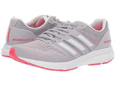 adidas Running adiZero Boston 7 (Grey Two/White/Shock Red) Women