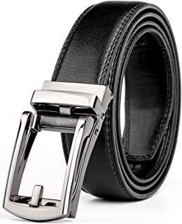 Zaqeen Belts for Men with Automatic Buckle 35mm Wide 1 3//8