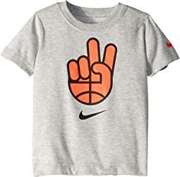 Dry Basketball Peace Short Sleeve Tee (Toddler)
