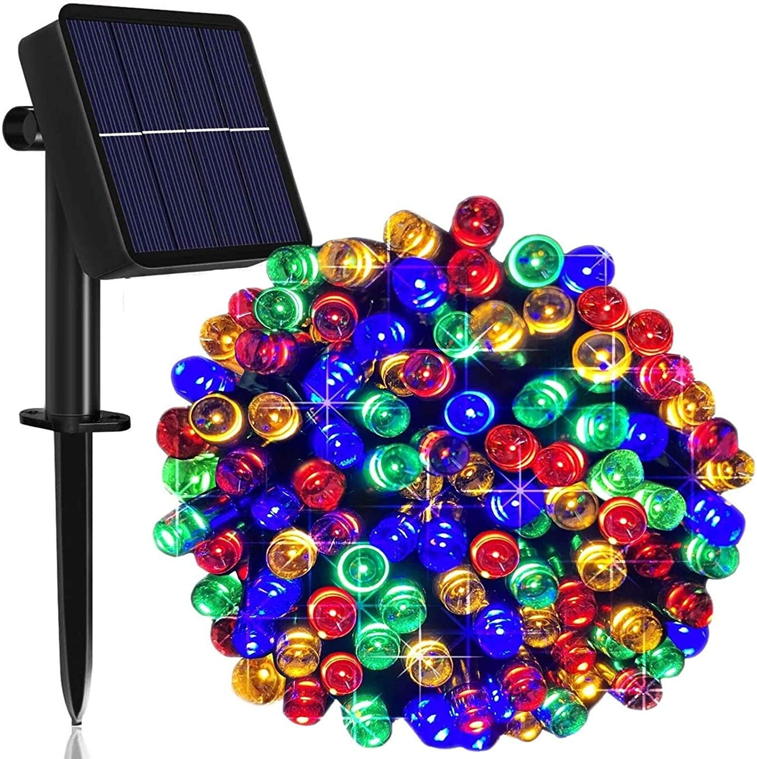 ZSMPY Fairy Lights Super special price Solar Led Now on sale 8 Wire String Modes Lighting
