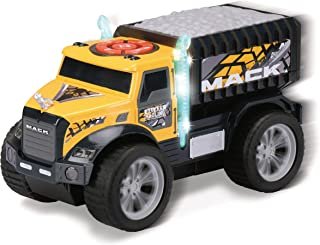 Kid Galaxy Mack Dump Truck. Motorized Light & Sound Toy Dumptruck Vehicle