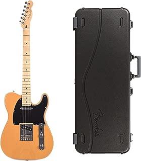 Fender Player Telecaster MN Butterscotch Blonde Bundle w/Fender Molded Hardshell Case