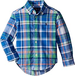Polo Ralph Lauren Kids - Cotton Madras Shirt (Toddler)