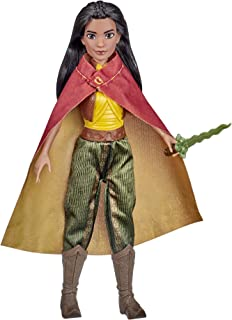 Disney Raya Fashion Doll with Clothes, Shoes, and Sword, Inspired by Disney's Raya and the Last Dragon Movie, Toy for Kids...