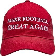 Football Addiction - Make Football Great Again - Funny Football Hat Cap Gift Red