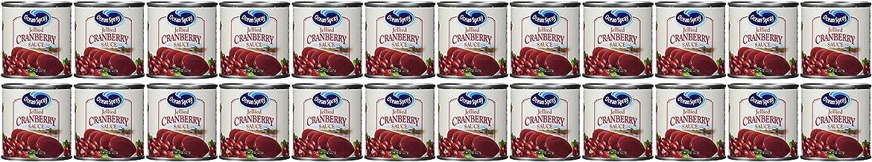 Ocean Spray Cranberry Sauce, 8 OZ (Pack of 24)