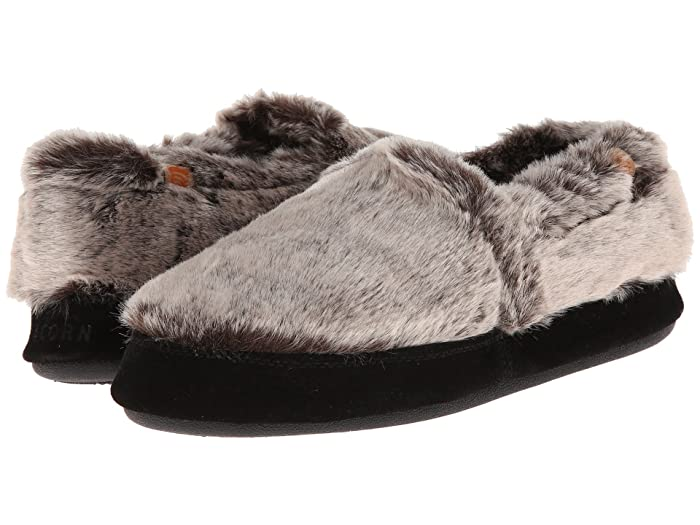 Acorn   Moc (Chinchilla) Womens Moccasin Shoes