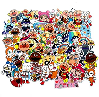 EKIND Not Repeat Graffiti Stickers for Tablet Skateboard Car Decals Bicycle (57Pcs, Anpanman)