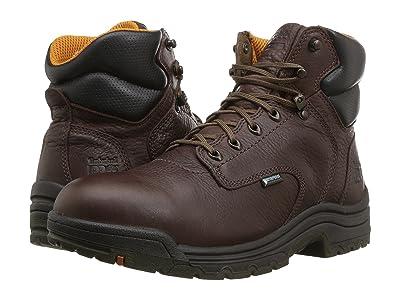 Timberland PRO Titan 6 Soft Toe Waterproof (Dark Mocha) Men