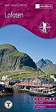 Norwegen topographische Wanderkarte Lofoten: Austvågøy, Skrova, Gimsøy, Vestvågøy, Flakstadøy, Moskenesøy, Værøy, Røst, Sv...