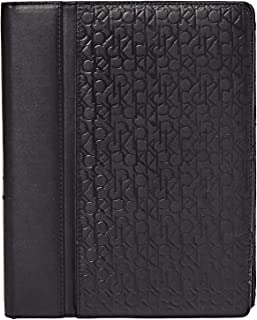 Calvin Klein Monogram Ipad Case for Men, Black - 2974263-BLK