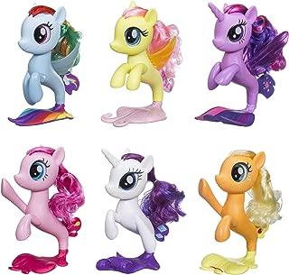 My Little Pony 6 Seapony Toys – Twilight Sparkle, Rainbow Dash, Pinkie Pie, Rarity, Fluttershy, & Applejack 6