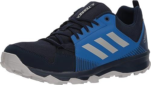 Adidas outdoor Men's Terrex Tracerocker GTX Trail Running chaussures, col. Navy gris Two bleu Beauty, 6 D US